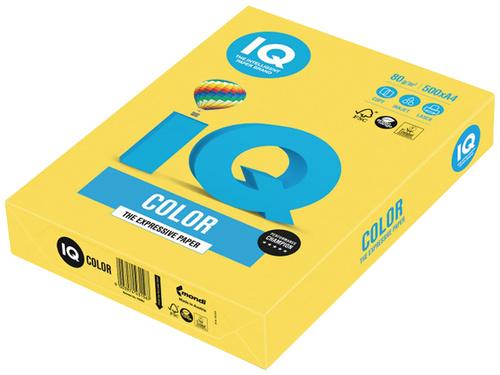 Бумага IQ Color Intensive А4 80g/m2 500л Canary Yellow CY39 083951