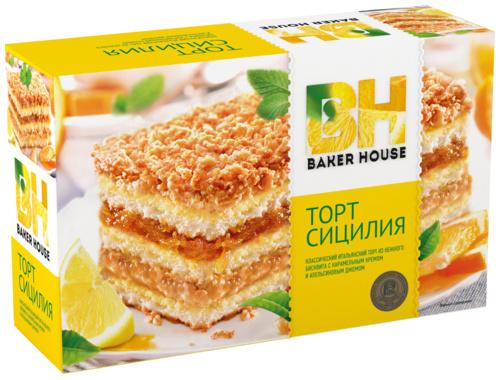 торт сицилия baker house рецепт